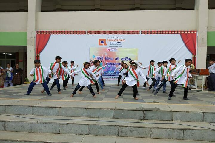 Abhyuday School Kawardha-Independence Day