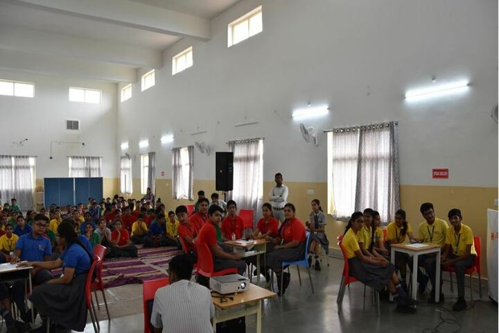 Abhyuday School Kawardha-Quiz Competition