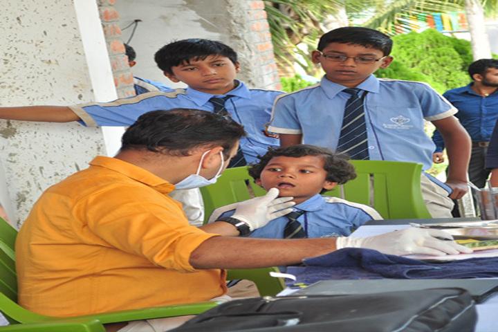 Academic Brights Public School-Medical Camp