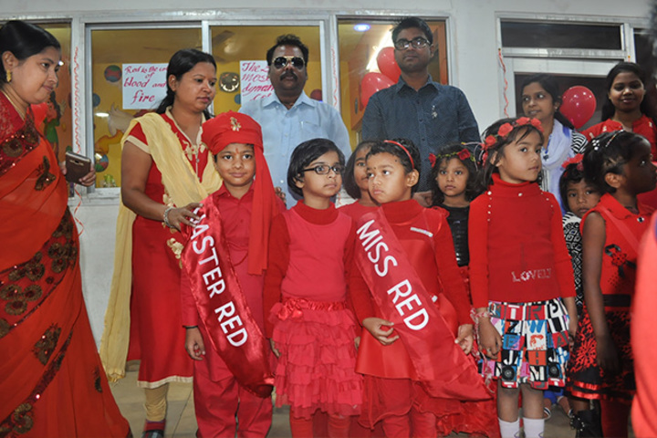 Academic Brights Public School-Red Day