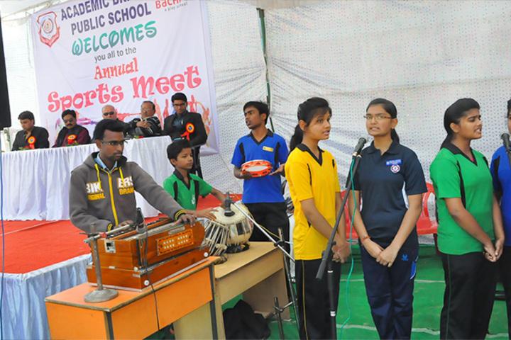 Academic Brights Public School-Sports Meet
