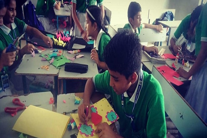The Daffodills Public School-Greeting Card Making Competition