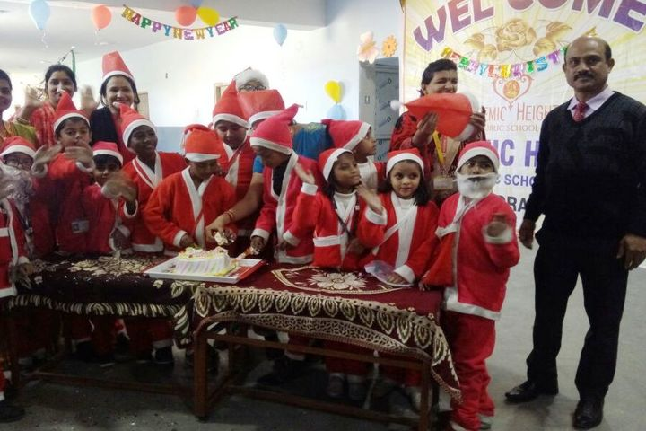 Academic Heights Public School Koriya-Christmas Celebration