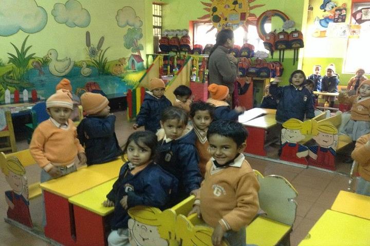 The Gurukul Foundation School-Kids Area