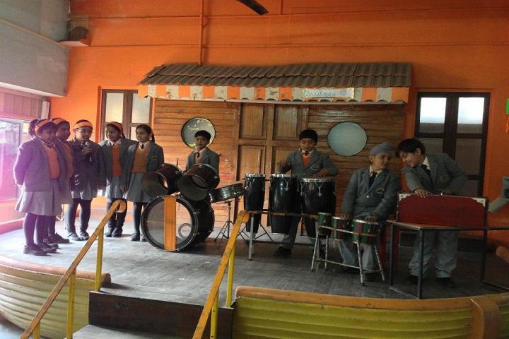 The Gurukul Foundation School-Music Room