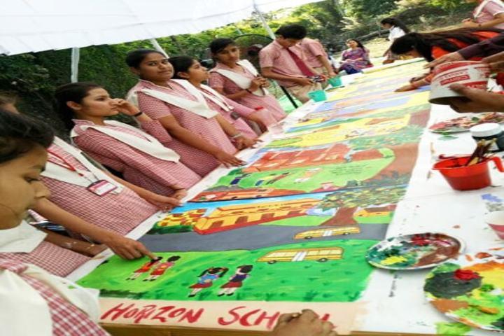 The Horizon School-Art Exhibition