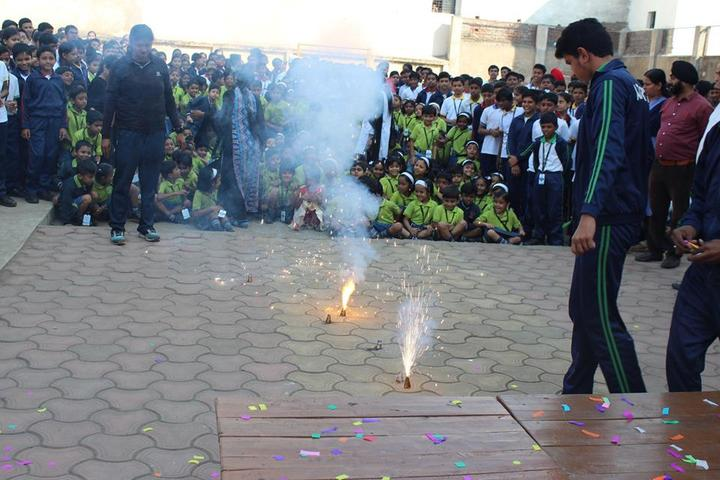 Adarsh Vidyalalya School- Diwali celebrations