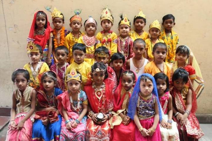 Adarsh Vidyalalya School- Krishna jayanthi celebrations