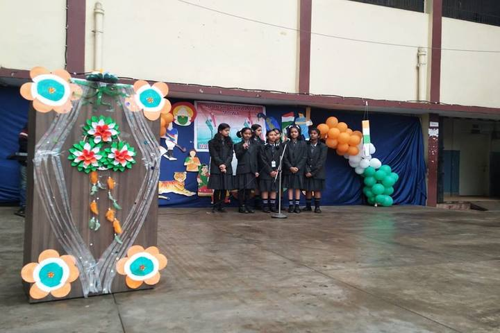 Adarsh Vidyalalya School- Republic day celebrations