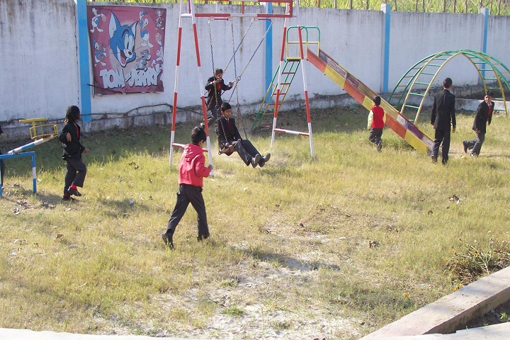 Thomsan World School-Playing Area