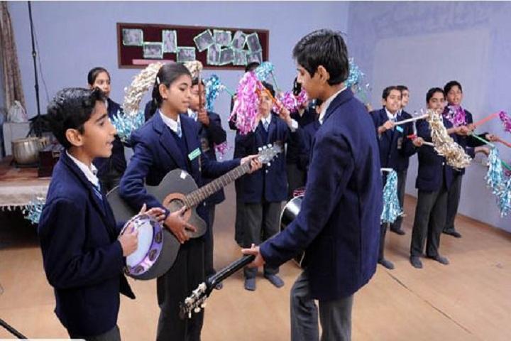 Thomsan World School-Music Room
