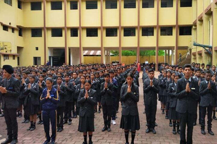 Adarsh Vidyalalya English Medium Higher Secondary School-Assembly