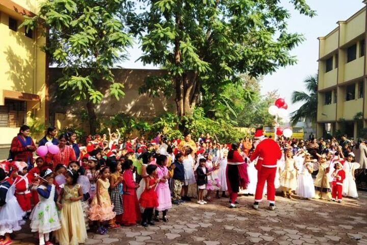 Adarsh Vidyalalya English Medium Higher Secondary School-Christmas Celebrations
