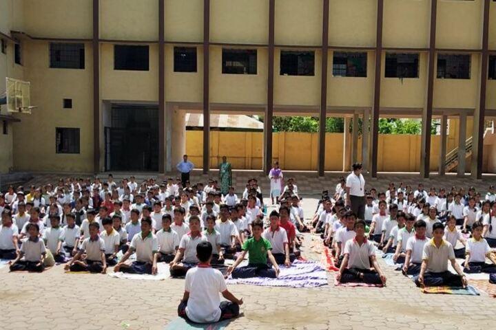 Adarsh Vidyalalya English Medium Higher Secondary School-Yoga