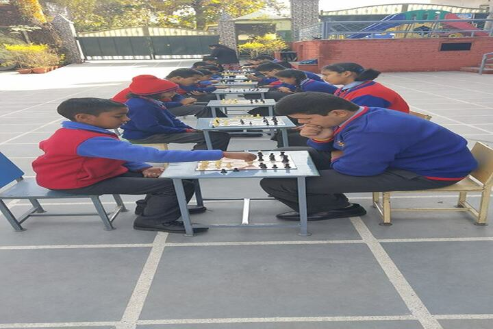 Whizzkid International School-Chess Competition