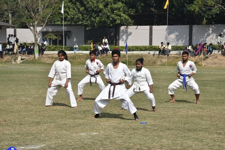 Aditya Academy Secondary-karate