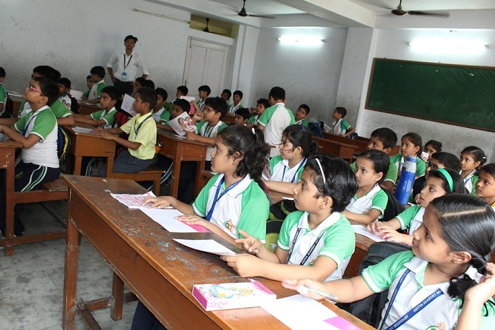 Aditya Academy Senior Secondary-KG classroom