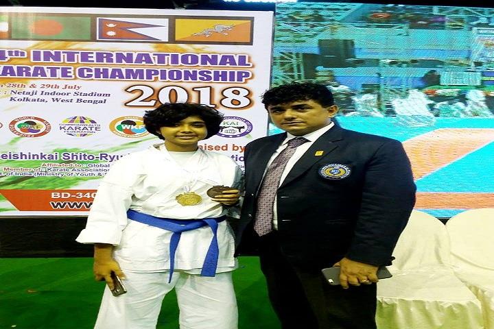 Aditya Academy Senior Secondary School-karate