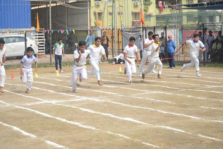 Aditya Academy Senior Secondary-running race