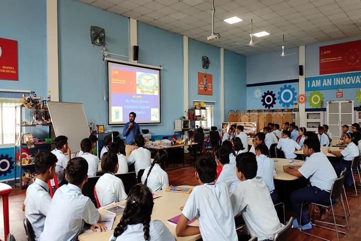 Air Force School-Digital Class Room