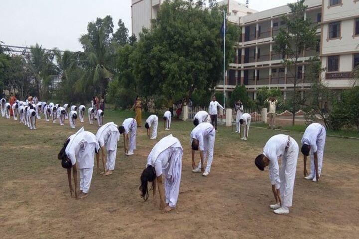Amrita Vidyalaya-Yoga day