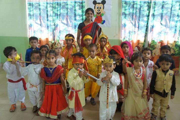 Allons Public School-Krishna jayanthi celebrations