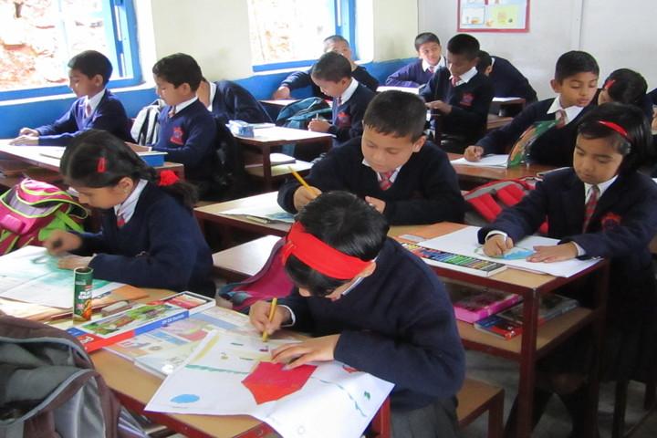 Army Public School-Drawing