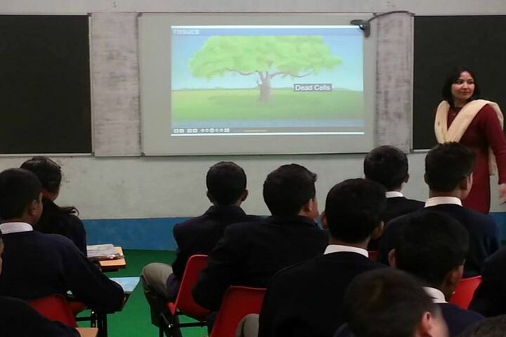 Army Public School-Digital Class Room