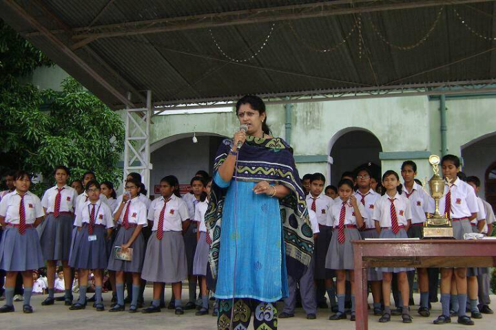 Speech During Assembly