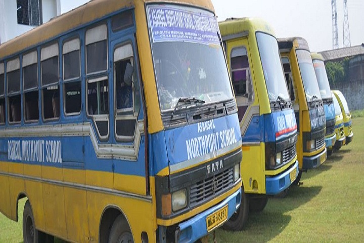 Asansol North Point School- Transport Bus