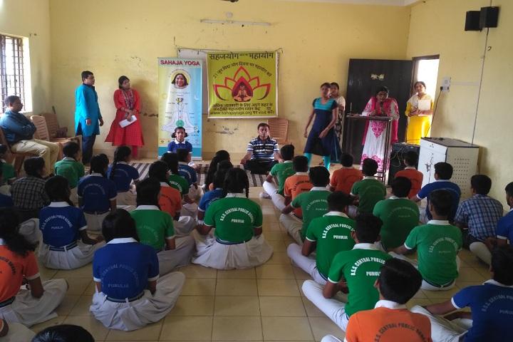 B S S Central Public School-Yoga