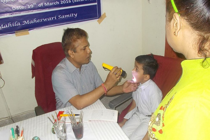 B S S Central Public School-Medical Checkup