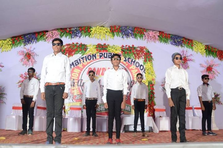Ambition Public School-Boys Dance
