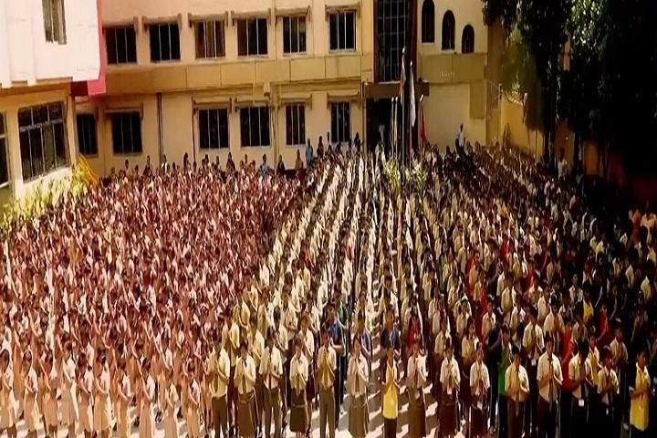 Barasat Indira Gandhi Memorial High School-Assemble Ground