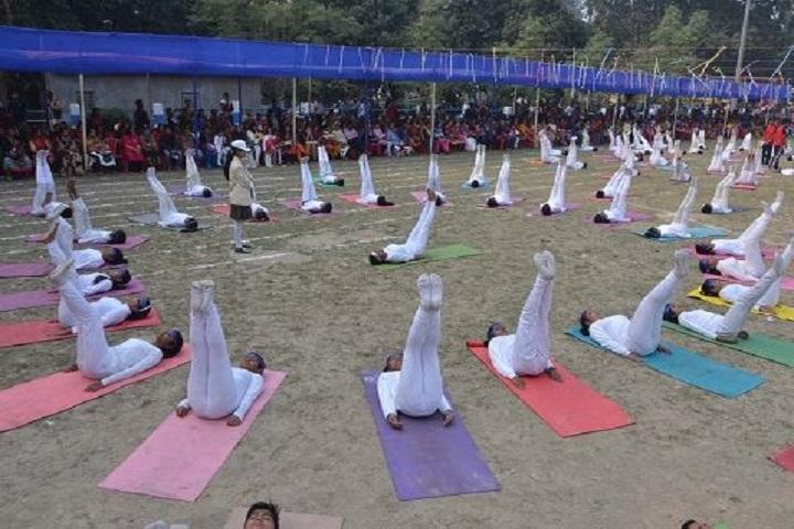 Barasat Indira Gandhi Memorial High School-Yoga