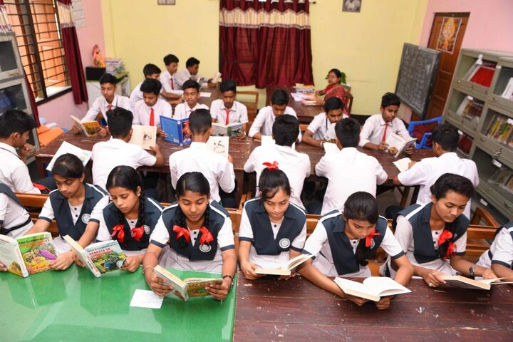 Bd Jain Modern School-Library
