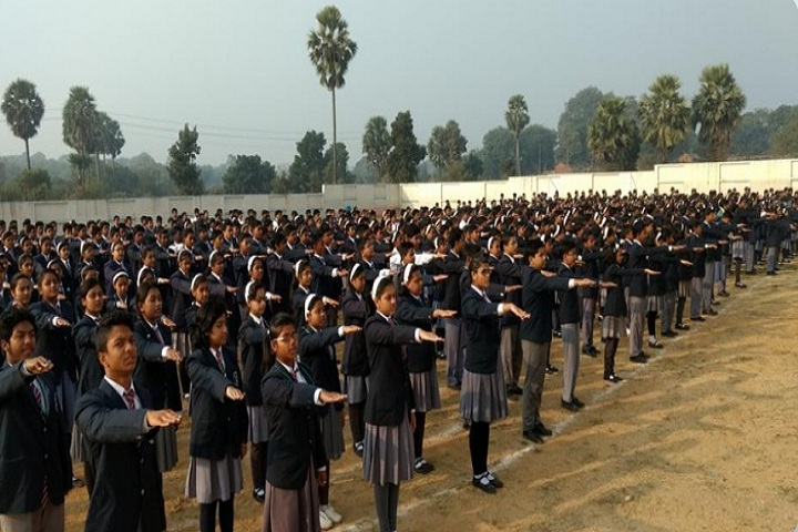 Burnpur Riverside School-Assembly