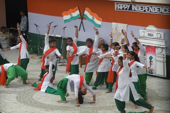 Burnpur Riverside School-Independence day Celebration