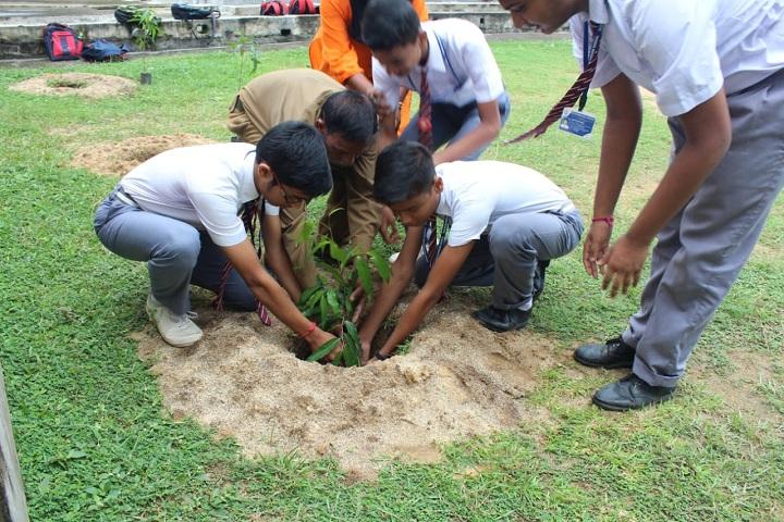 Burnpur Riverside School-Plantation