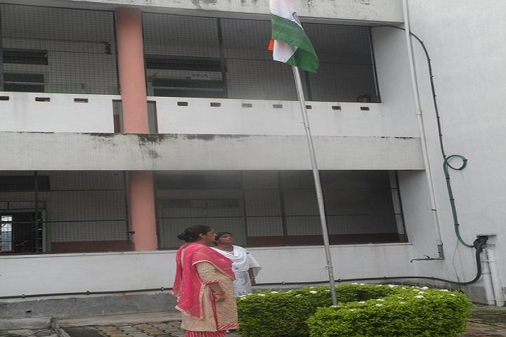 Burnpur Riverside School-Republic day