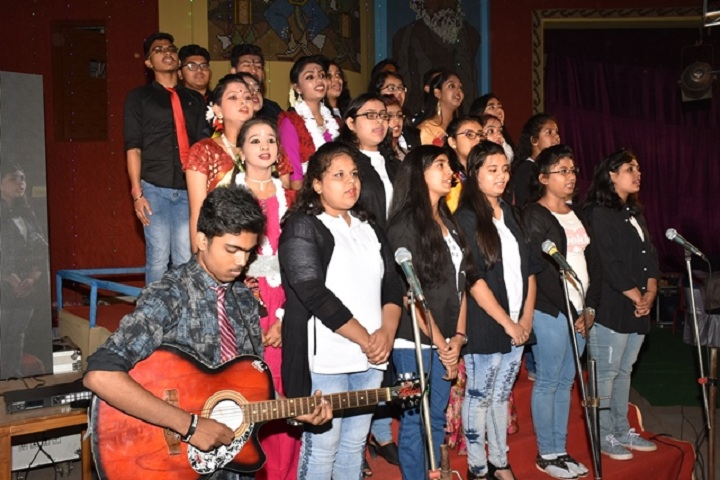 Burnpur Riverside School-Singing