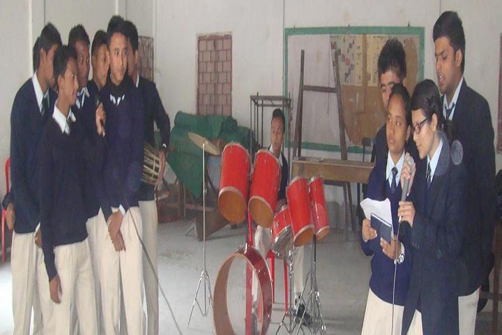Caesar School-Music room