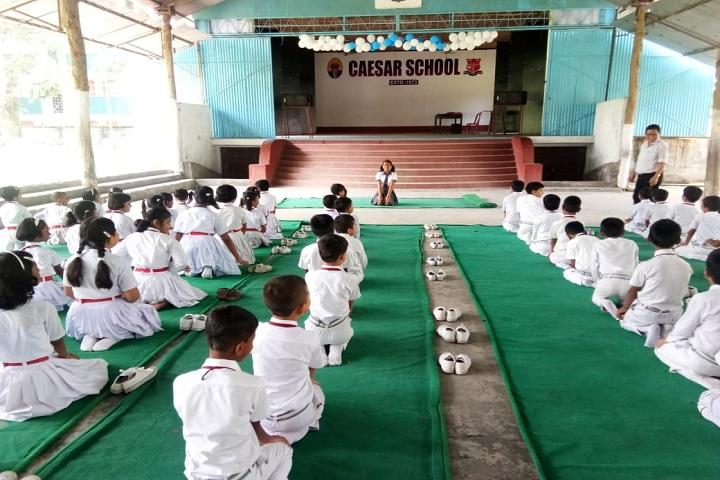 Caesar School-Yoga day