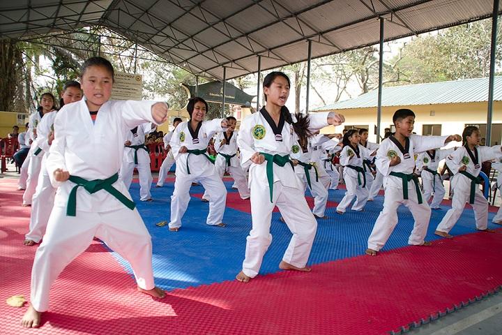 Campion International School-Taekwondo