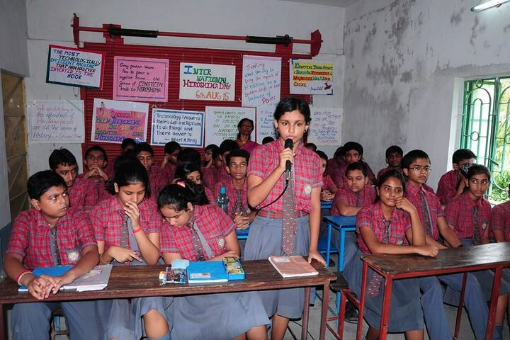 Chakdaha Model School-Debate
