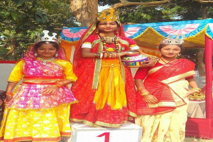 Chakdaha Model School-Festival Celebration