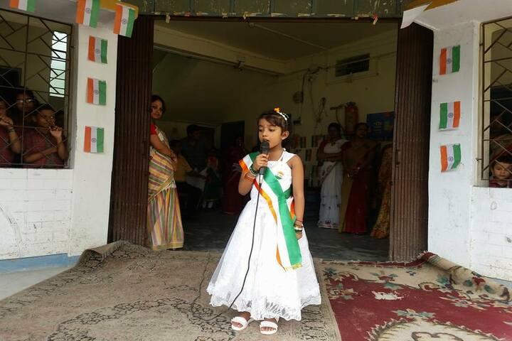 Chakdaha Model School-Singing