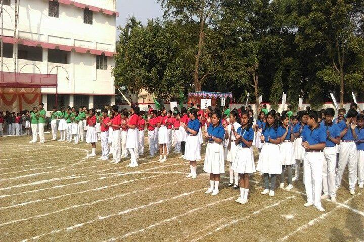 Chakdaha Model School-Sports Day