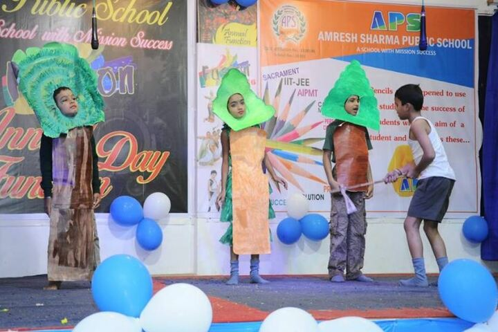 Amresh Sharma Public School-Drama