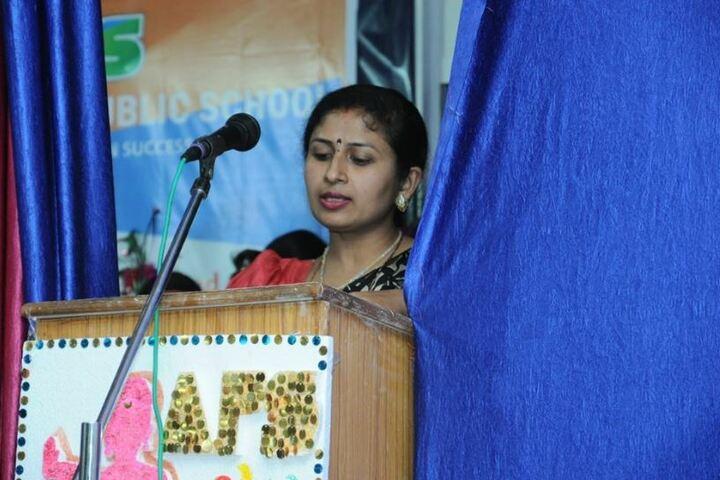 Amresh Sharma Public School-Speech